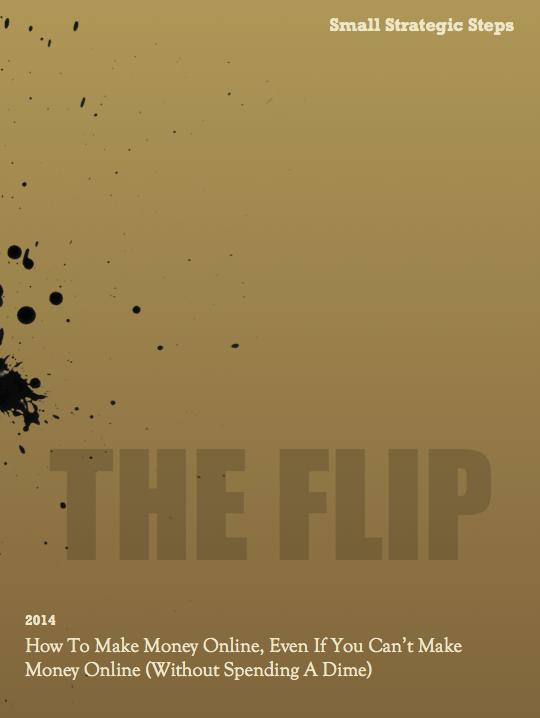 flip report cover